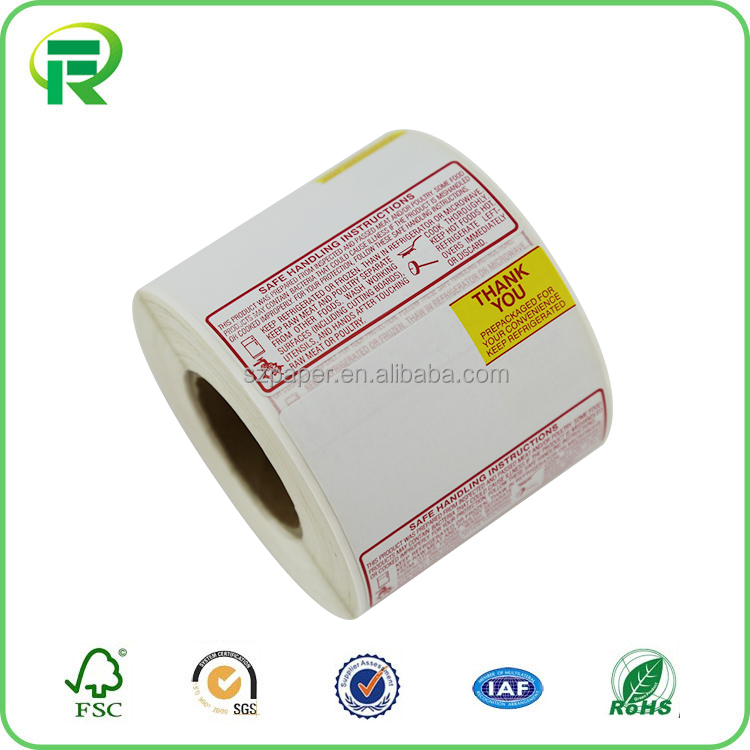 Factory Supplier printing sticker labels