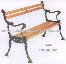 Wood & Cast Iron Garden Benches