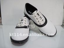 classic design all white golf shoes