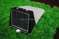 Out Door Solar Powered Rechargeable Led Battery Wall Light