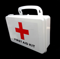 Wall mounted first aid kit emergency kit