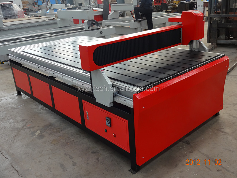 small vibration durable cast-iron lathe welding table woodworking cnc router machine