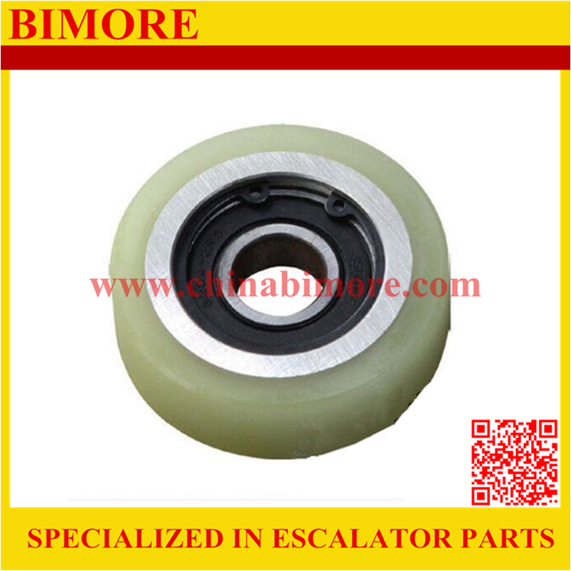 75x24x6204 BIMORE Escalator step roller for Thyssenkrupp, 75*24*6204