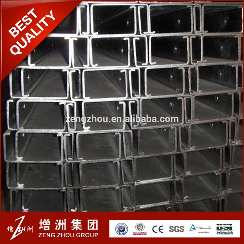 Professional c shape steel unistrut channel with CE certificate
