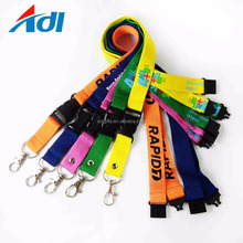 Custom heavy duty keychain short funny lanyard for keys for sale