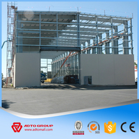 Hot Cheap Price Steel Structure Frame Kits Light Prefab House Large Span Warehouse Project Plans China Manufacturer NEW 2016