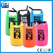 Best choice for camping Outdoor foldable 500D PVC waterproof dry bag