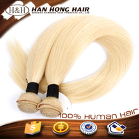 Whoolesale factory price 613 color virgin brazilian blonde human hair weave bundles