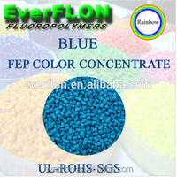 FEP Blue Color Plastic Master batches/color concentrate