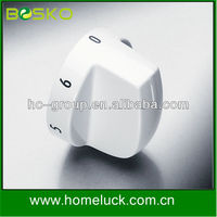 High quality electric or gas stove knob by metal or plastic