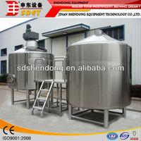 1000L complete brewing system,home brewing equipment,1000 litre tank for beer brewing