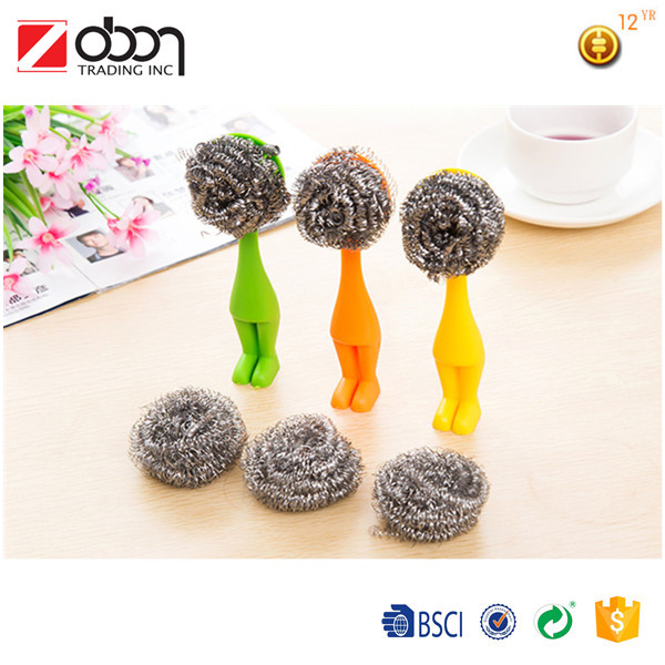 Kitchen cleaning pot brush