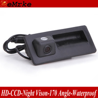 eeMrke For Skoda Octavia 2015 Handle Rear View Camera / Back Up Parking Camera / HD CCD Night Vision NTSC PAL Waterproof