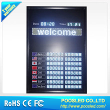 bank currency banner board \ bank currency billboard banner \ bank currency signage sign