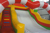 2015 new inflatable water slide inflatable slide for kids with pool