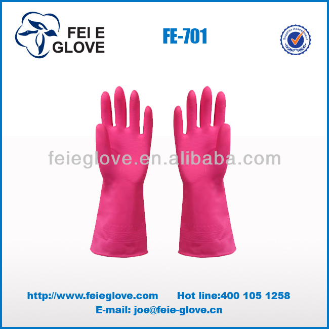 vinyl pvc safety gloves latex palm