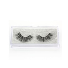 Purely Manual 3D Mink Eyelashes, Each Box Contains One Pair Fake Eyelashes