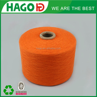 alibaba best sellers 18s high quality pc oe recycled dyed cotton yarn for socks