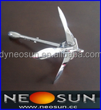 Stainless Steel Folding Anchor, Foldable Anchor, Ship Anchor