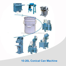 5Gallon conical paint canning machine production line