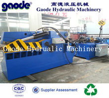 ISO lowest price small scrap metal cropper Shear machine on sale