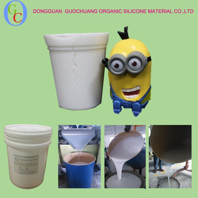 Pourable Molding Silicone Rubber for resin kits