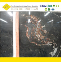 Polished and leathered standard black cosmic granite thickness specifications