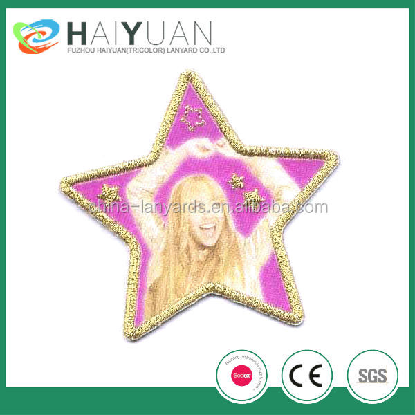 fashion design embroidery patch for garments