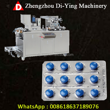 Small Automatic Medicine Pill Tablet Capsule hardware Blister Packing Machine