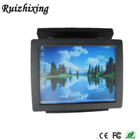 RZX China supply two screens POS touch automatic tablet for cashier management