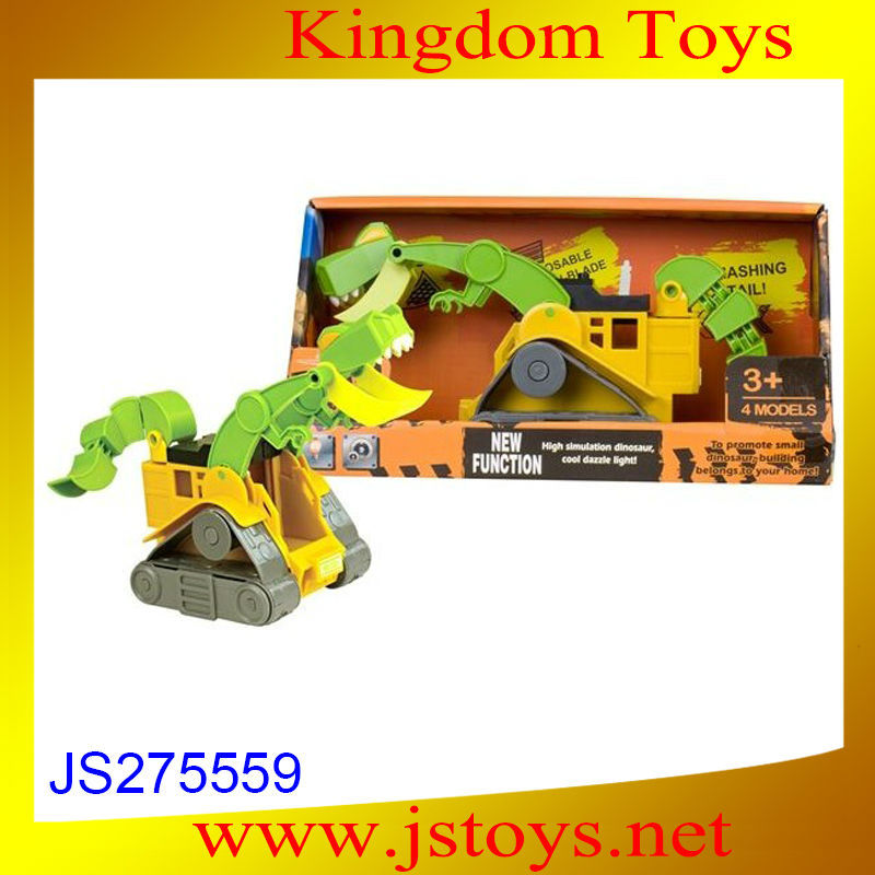Hot selling construction toys battery operated toys with high quality
