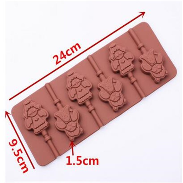 angel shape silicone chocolate mold.jpg