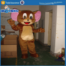 Popular mouse friend jerry funny tom & jerry cartoon character high quality custom mascot costume