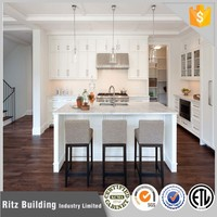 Ritz Custom Made Solid Wood Modular Kitchen Remodeling Factory