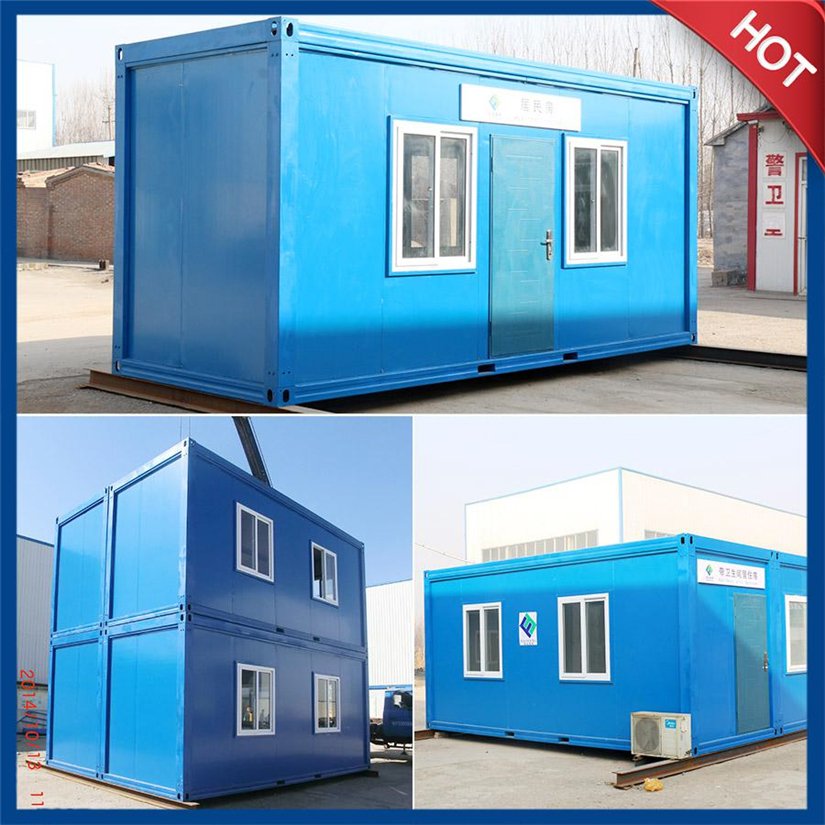 with competitive price Fire resistance fireproof container house with pu sandwich panel