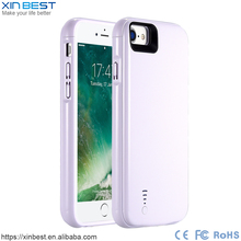 Customized cell phone battery charger case slim battery case for iPhone 6 6S battery case