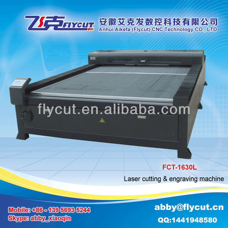 Flycut FCT-1530L large format big power CO2 laser engraving machine price
