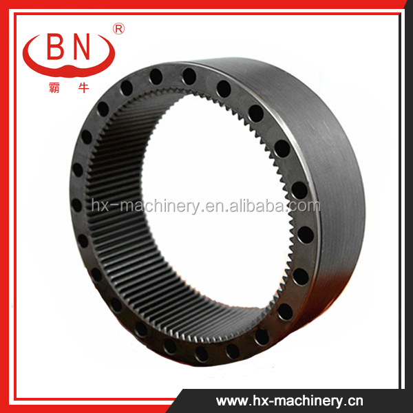 Apply to KOMATSU PC200-6 ExcNew Products PART No. 20Y-26-22151, 20Y-26-22150 , Excavator Gear Parts ,Excavator Slewing Gear Ring
