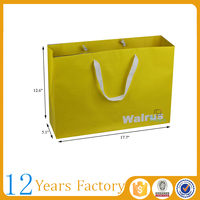 extra large paper packaging shopping bags
