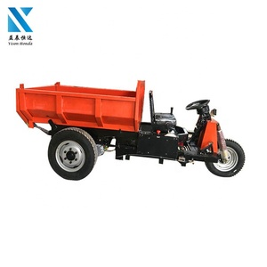 three wheel electric motorcycle battery tricycle in thailand used for mining dump