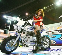 SKYTEAM 125CC 4 STROKE BAJA MONKEY MOTORCYCLE
