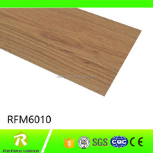 Indoor Wood Grain Click Planks Vinyl PVC Flooring