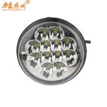 Factory Wholesale Auto Parts 5.7inch 36W Round 12V Led Work Light for Off-road Vehicle, ATV, SUV, 4X4 TRUCK, Boat