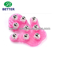 plastic massager facial massage gloves