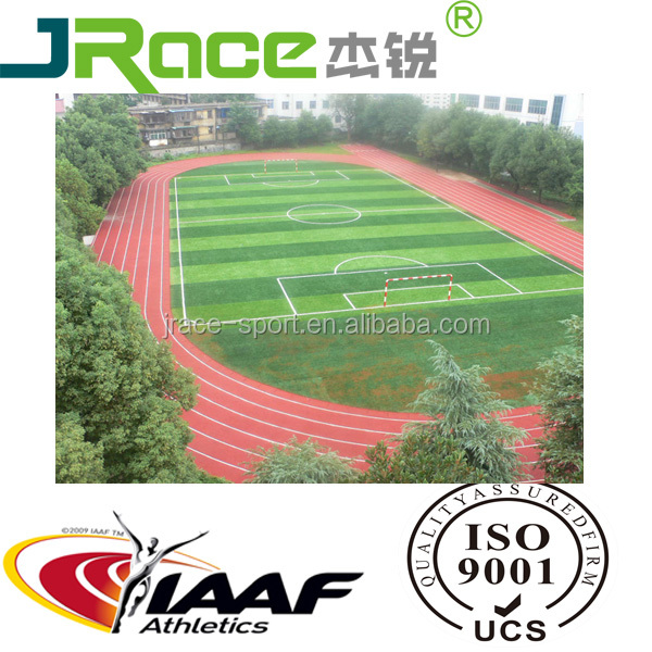 Athletic Rubber Running Track