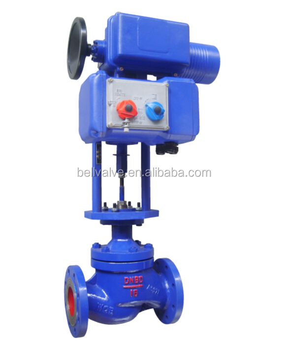 Electric steering flange automatic temperature control water valve