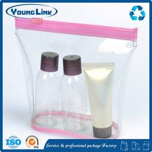 pvc printing cosmetic travel bag