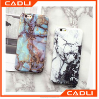 2016 New Arrival Hot Soft TPU Marble Stone Pattern Phone Case Cover for Iphone 5 5s 6 6s