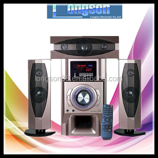 2017 Best woofer 3.1 home theater hi-fi speaker systems for multimedia