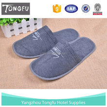 Terry towel cloth disposable slipper for hotel,airline and spa